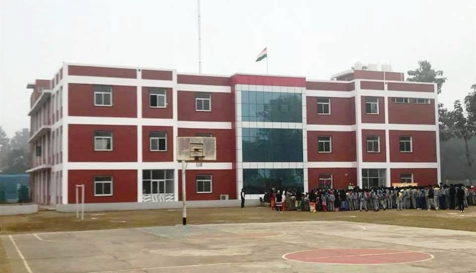 Santosh International School Building