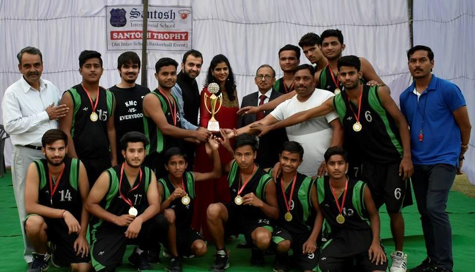 santosh international school sports